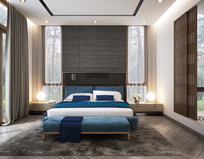Master Bedroom_Villa in Tuyen Lam Lake