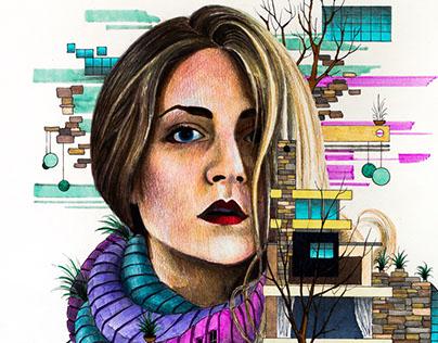 Architect girl