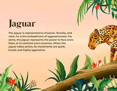 Jaguar Illustration & Banner