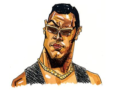 Road to WrestleMania Portrait Series