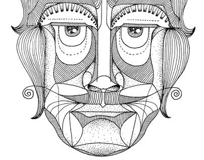 Dots face