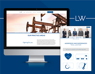 Liles White Law Firm Website