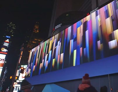 Time Square Video Wall