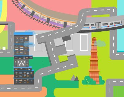 Illustration: Eccentri-Cities