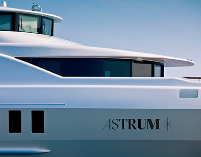 Logo & identity for a long distance ship Astrum