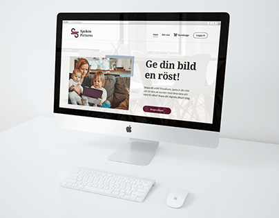 SpokenPictures - responsive web design