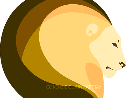 Icon Series: Lion Profile