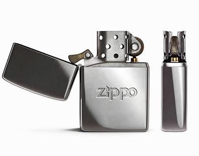 Zippo Windproof Editorial Design