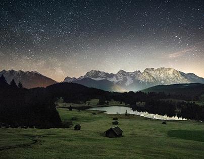 Geroldsee at Midnight