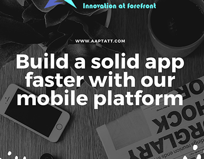 Build and app faster with our mobile platform.