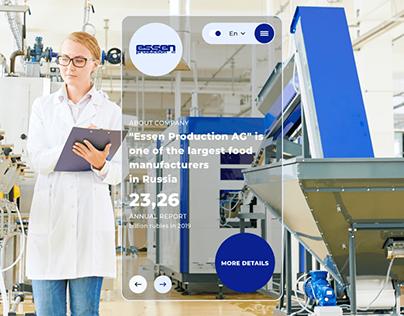 Essen Production – Corporate website