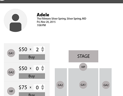 The Fillmore ticketing redesign