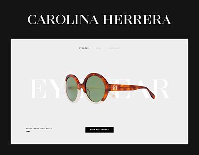 Carolina Herrera Website Design