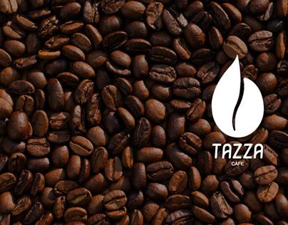TAZZA Cafe branding