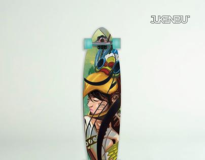 Azteca | Longboard Design