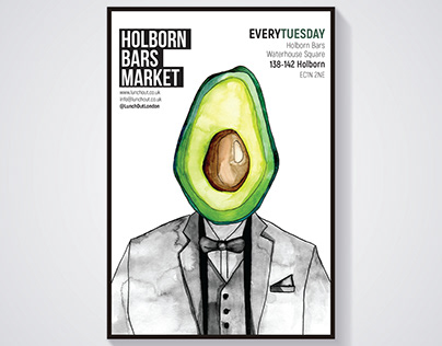 Mr. Avocado - Poster