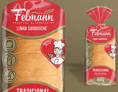 Embalagem para Pão de Forma Felmann