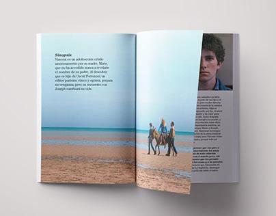 Le Fils de Joseph: Graphic design for cinema