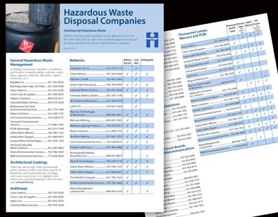 Factsheet: Hazardous Waste