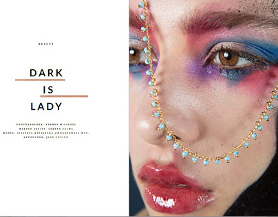 DARK IS LADY on Elegant Magazine - March 2018
