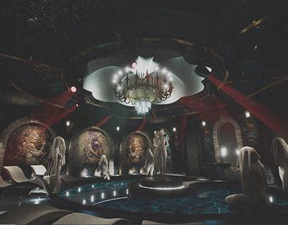 Teatro Entertainment Complex - Special sauna space