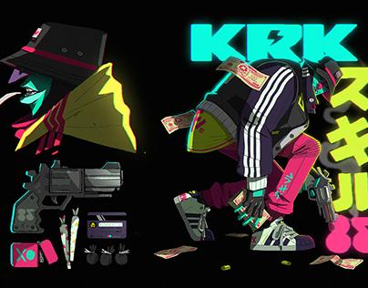 KRK85 // Character Design
