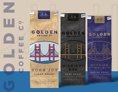 Golden Coffee - Branding