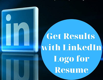 Get Results with LinkedIn Logo for Resume