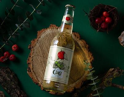 DeSad cider package design