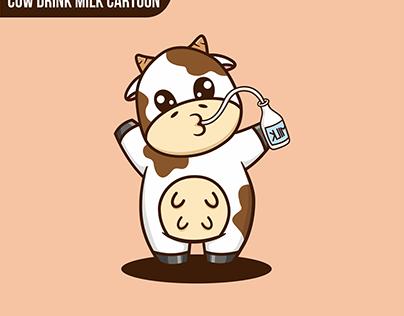 Cow Drink MIlk