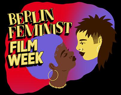 Berlin Feminist Film Week Poster