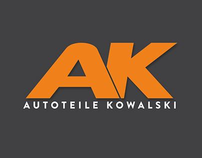 Corporate Design - Autoteile Kowalski