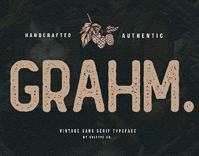 FREE | Grahm Vintage Sans Serif