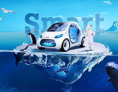 smart 【创意海报合成】