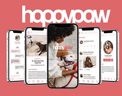 HappyPaw - UI/UX Case Study