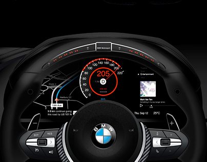 Vectorized BMW Interface Design