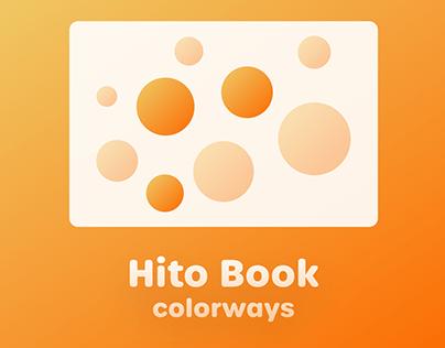 Hito Book Colorways