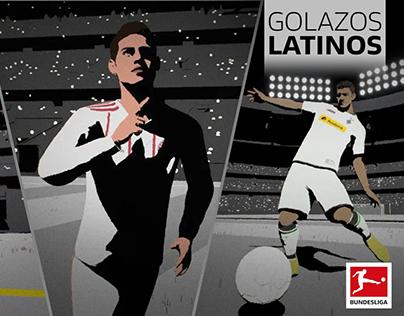 Bundesliga Golazos Latinos