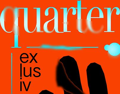 "quarter – ""exlusive"" (poster)"