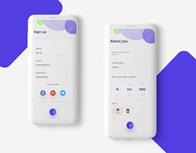 Daily UI Challenge-Signup
