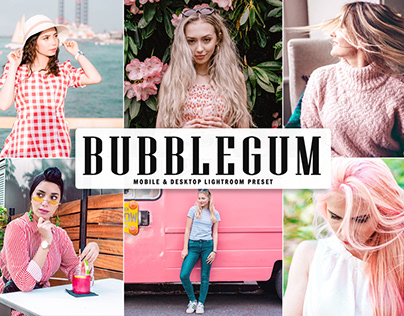 Free Bubblegum Mobile & Desktop Lightroom Preset