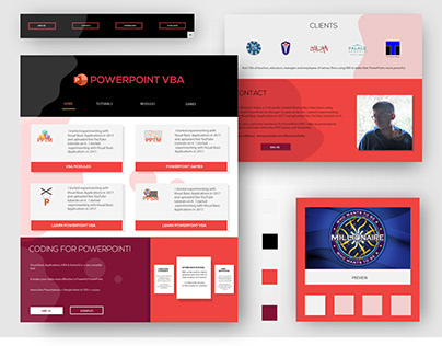An informative PowerPoint tutorial-based web design