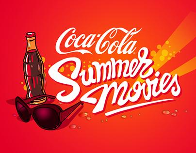Coca-Cola Summer Movies logo
