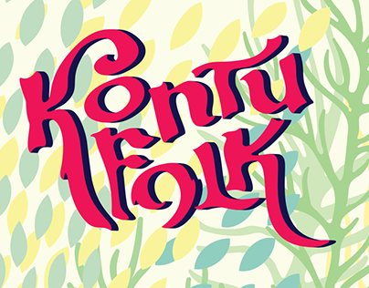 Visual identity for Kontufolk, 2014