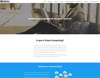 WebDesign - Modelo Página Cloud