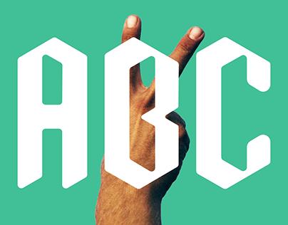 Moderna Fractura - A social typeface