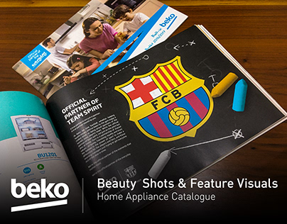 BEKO Home Appliance Catalogue - CG Visuals Retouching