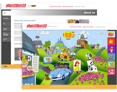Safety Education & Games Website