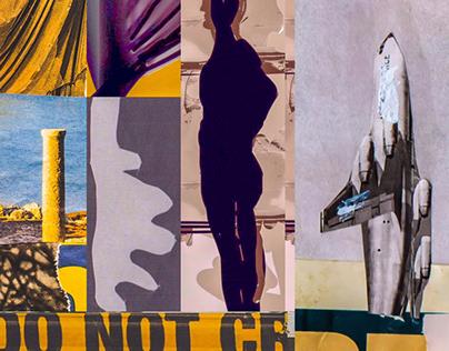 Extreme travel // Analog Collage Fragments
