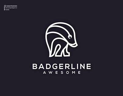 Badger Line Awesome Logo